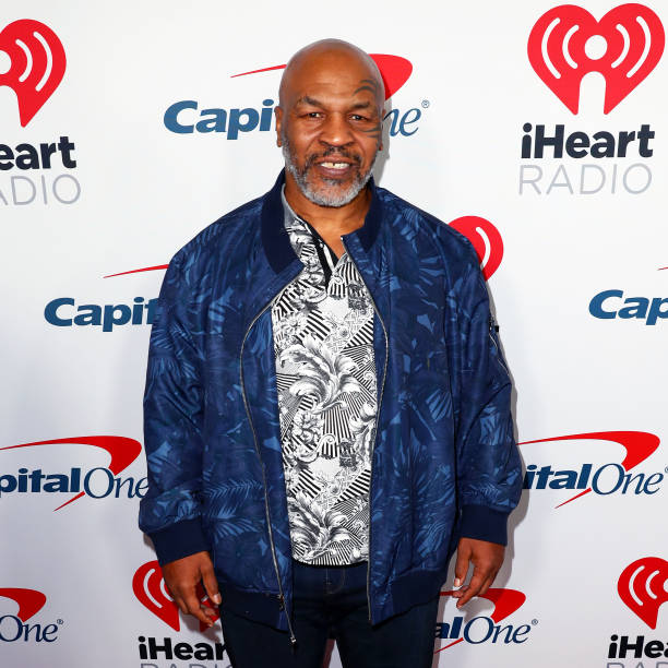 Mike Tyson arrives at the 2019 iHeartRadio Podcast Awards Presented by Capital One at the iHeartRadio Theater LA on January 18, 2019 in Burbank,...