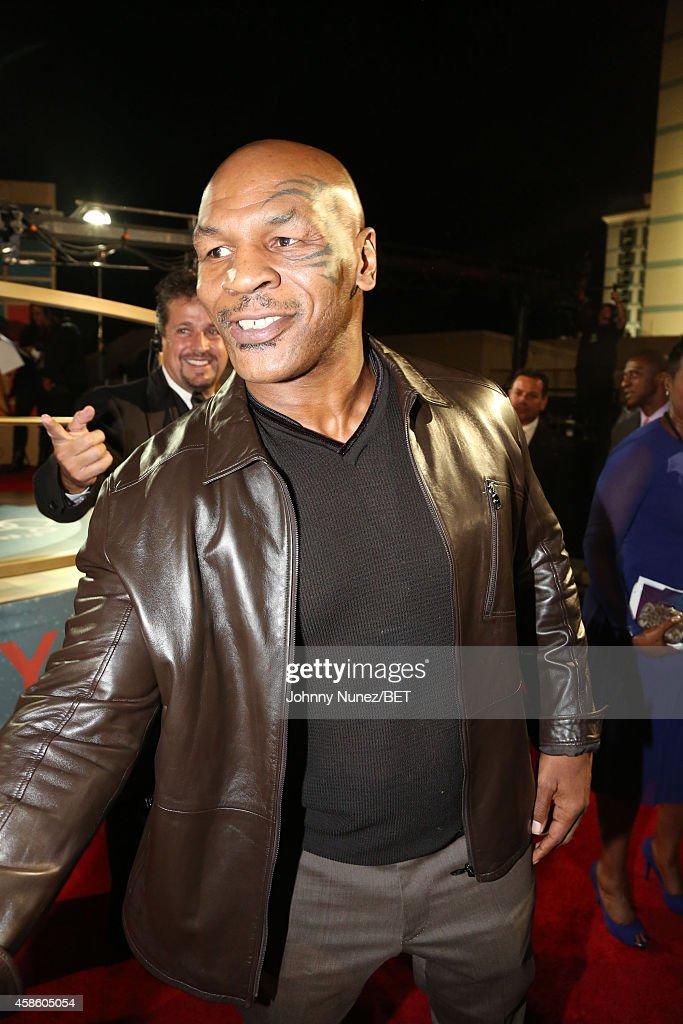 Mike Tyson attends 2014 Soul Train Music Awards on November 7, 2014 in Las Vegas, Nevada.