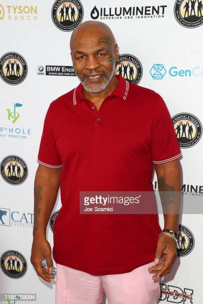 Mike Tyson attends Mike Tyson Celebrity Golf Tournament in support of Standing United on August 02 2019 in Dana Point California