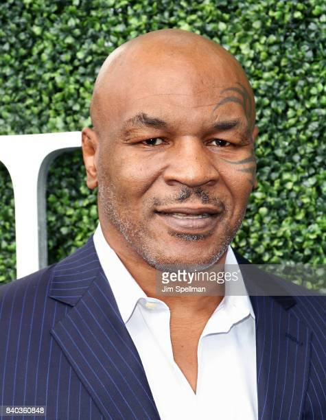 Mike Tyson attends the 17th Annual USTA Foundation Opening Night Gala at USTA Billie Jean King National Tennis Center on August 28 2017 in the Queens...