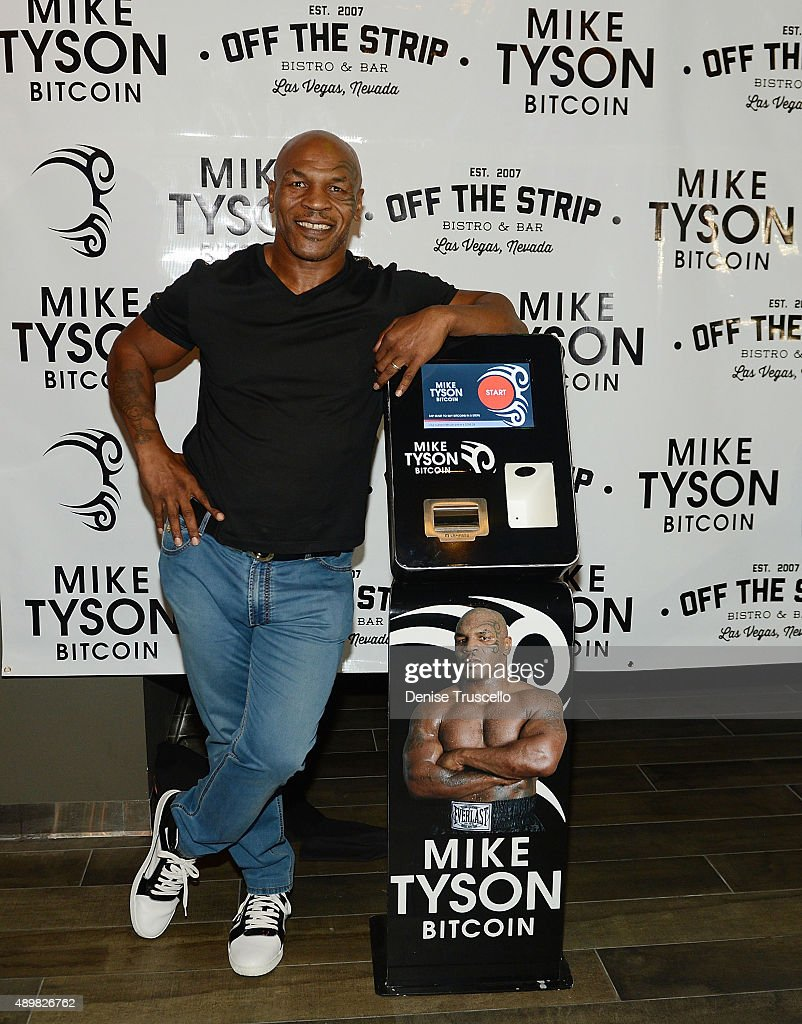 Bitcoin Direct Announces The Mike Tyson Bitcoin ATM: First Tyson Bitcoin ATM Launched In Las Vegas