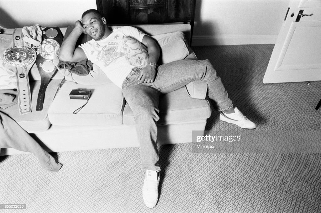 Mike Tyson : News Photo