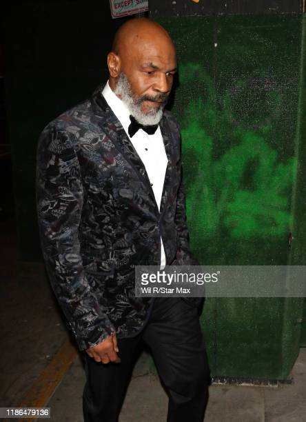 Mike Tyson is seen on December 3 2019 in Los Angeles California