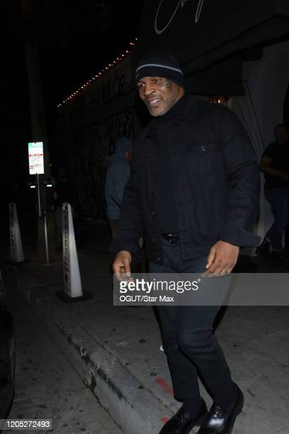 Mike Tyson is seen on March 5 2020 in Los Angeles California