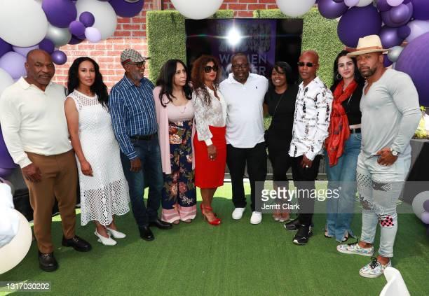 "Mike Tyson, Lakiha ""Kiki"" Spicer, Shamsud din Ali, Rita Ali, Alicia Etheredge, Bobby Brown, Dee Dee, Zab Judah, guest and Columbus Short attend the..."