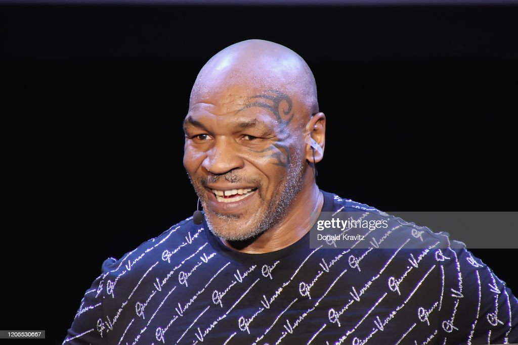 """Mike Tyson Performs His One Man Show """"Undisputed Truth"""" : News Photo"""