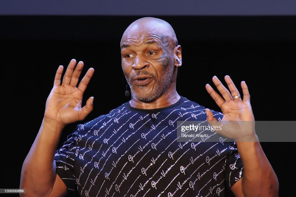 "Mike Tyson Performs His One Man Show ""Undisputed Truth"" : News Photo"