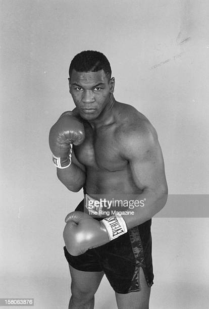 Mike Tyson poses during a portrait session in December 1985 in New York, New York.