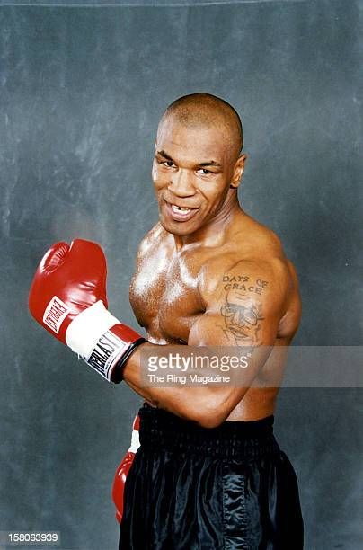 Mike Tyson poses for a portrait on January 121999 in Las Vegas Nevada