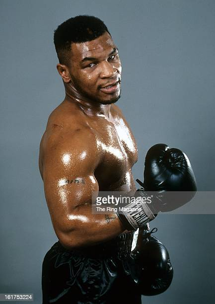Mike Tyson poses for a portrait.