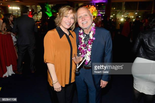 Mike Utley attends the Broadway premiere of 'Escape to Margaritaville' the new musical featuring songs by Jimmy Buffett at the Marquis Theatre on...