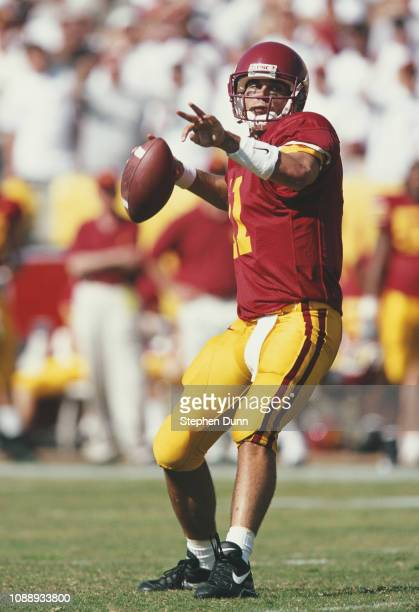 Mike Van Raaphorst Quarterback for the University of Southern California USC Trojans during the NCAA Pac10 Conference college football game against...