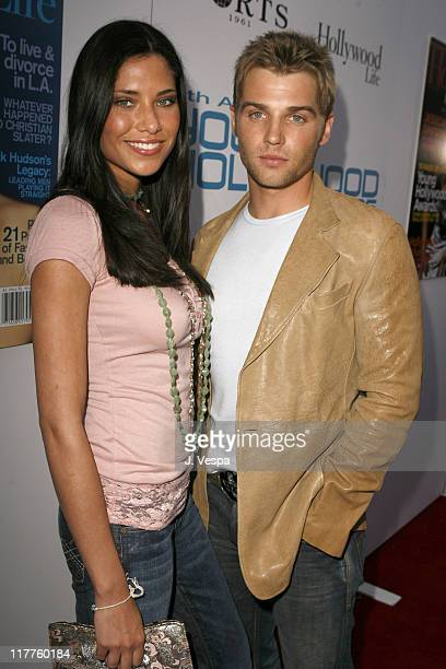 Mike Vogel and Courtney Vogel during Movieline's Hollywood Life 8th Annual Young Hollywood Awards Red Carpet at Music Box at the Fonda in Hollywood...