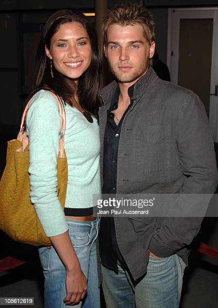 Mike Vogel and guest during Standing Still Los Angeles Premiere Arrivals at Arclight Cinemas in Los Angeles California United States