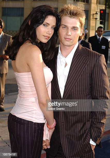 Mike Vogel and Wife Courtney during The Sisterhood of the Traveling Pants Los Angeles Premiere at Grauman's Chinese Theatre in Hollywood California...