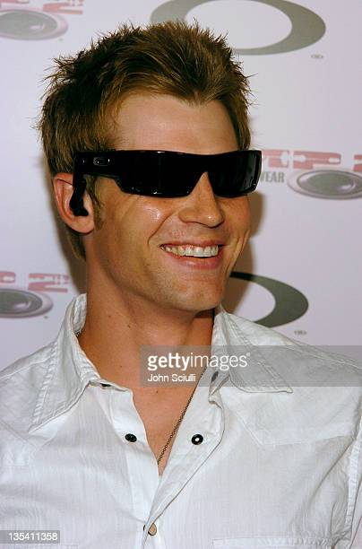 Mike Vogel during Oakley Thump 2 Launch Party October 12 2005 at Montmartre Lounge in Hollywood California United States
