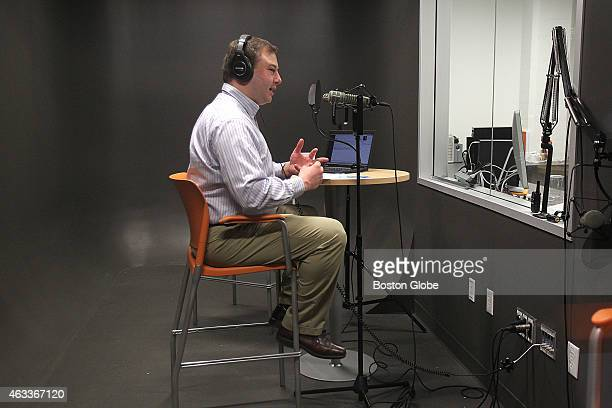 Mike Volpe HubSpot CMO records his weekly podcast The Growth Show Since 'Serial' became a national phenomenon companies are increasingly looking to...