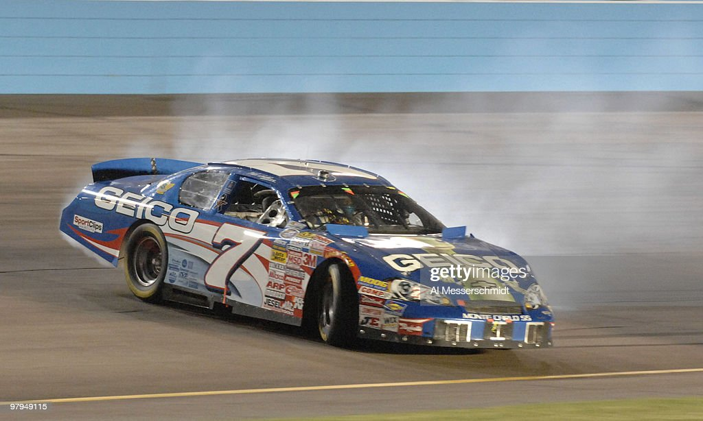 Mike Wallace During The NASCAR Bashas Supermarkets 200 Busch Series