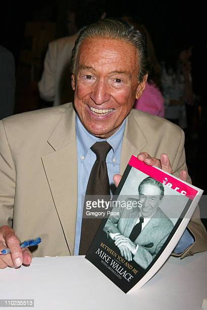 Mike Walllace during 2005 BookExpo America Day Two at Jacob Javits Center in New York City New York United States