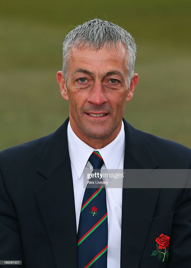 Mike Watkinson the Cricket Director of Lancashire CCC during a pre-season photocall at Old Trafford on April 2, 2013 in Manchester, England.
