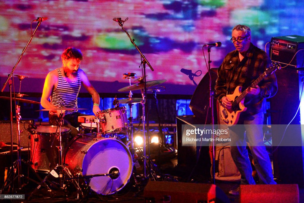 Mike Watt and Il Sogno Del Marinaio perform on stage during the Liverpool International Festival of Psychedelia on September 23, 2017 in Liverpool, England.