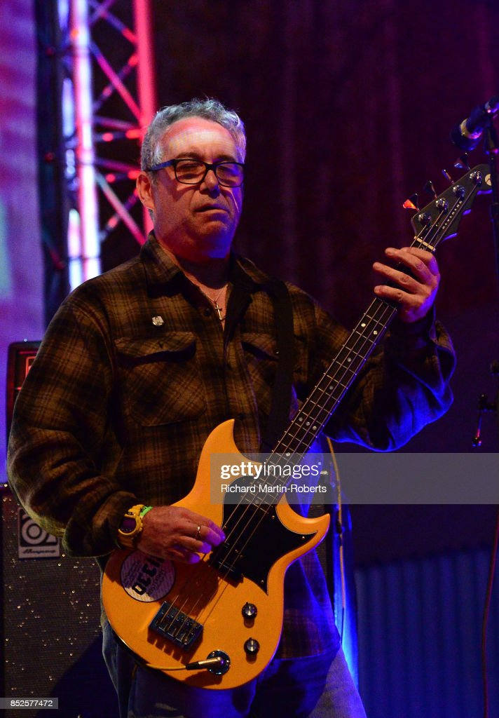 Mike Watt of Il Sogno Del Marinaio performs on stage during the Liverpool International Festival of Psychedelia on September 23, 2017 in Liverpool, England.