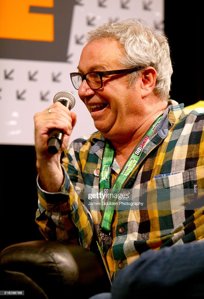 Mike Watt speaks onstage at 'Under the Big Black Sun: A Conversation with John Doe and Mike Watt' during the 2016 SXSW Music, Film + Interactive Festival at Austin Convention Center on March 17, 2016 in Austin, Texas.