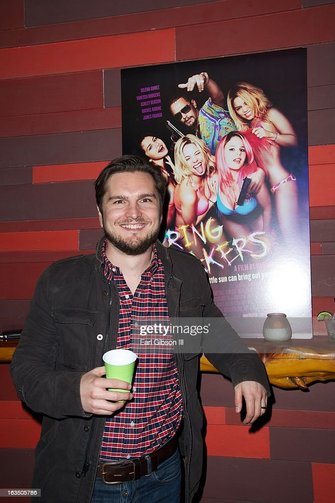 Mike Weber (Producer) attends 'The Branding Bee Presents The World Premiere After-Party Of 'Spring Breakers' Live From The Hive' at The Ranch on March 10, 2013 in Austin, Texas.