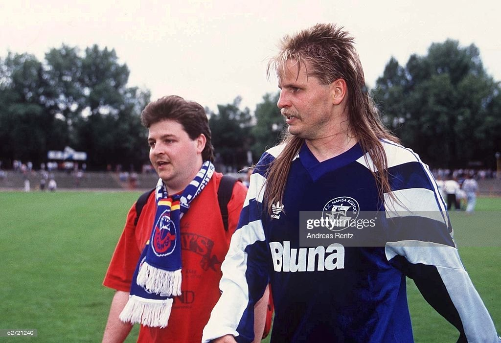 FUSSBALL: 2. BUNDESLIGA 94/95 FC HANSA ROSTOCK : News Photo