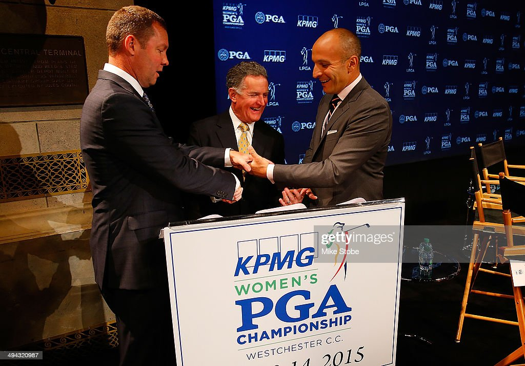 KPMG Women's PGA Championship Announcement : News Photo