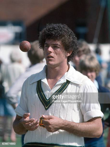Mike Whitney of Australia during the 1981 tour of England circa May 1981