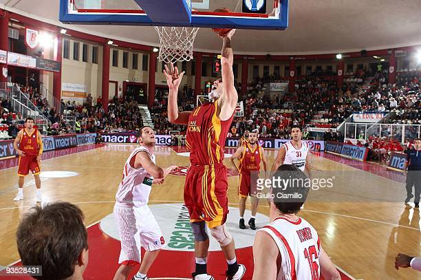Mike Wilkinson, #11 of Galatasaray Cafe Crown in action during the Eurocup Basketball Regular Season Game Day 2 between Bancatercas Teramo vs...