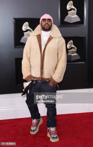 Mike WiLL MadeIt arrives at the 60th Annual GRAMMY Awards at Madison Square Garden on January 28 2018 in New York City