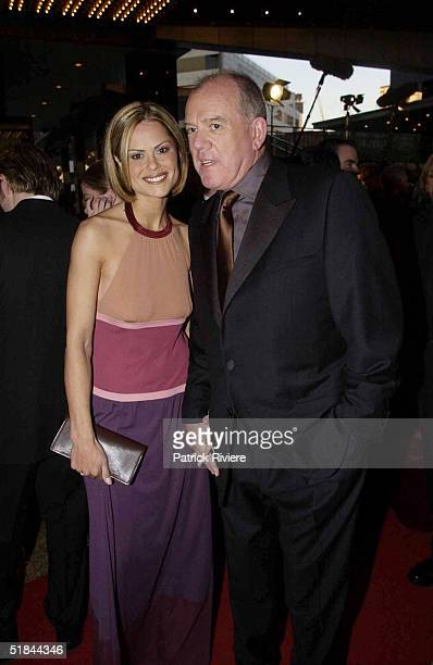 28 APRIL 2002 Mike Willesee PRODUCER AND GORDANA WILLESEE AT THE 44th TV WEEK LOGIE AWARDS HELD AT MELBOURNE'S CROWN ENTERTAINMENT COMPLEX ON SUNDAY...