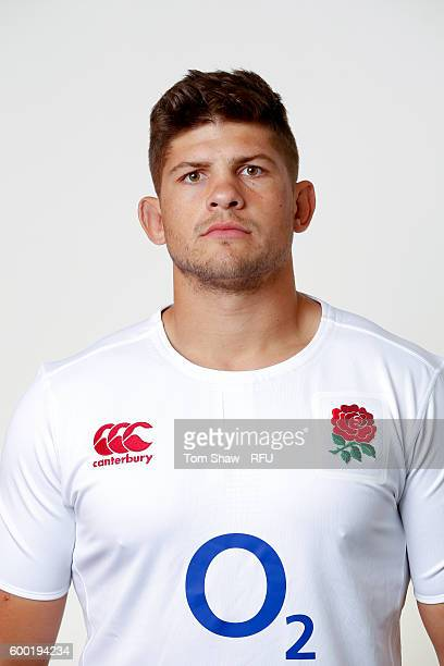 Mike Williams of England poses for a portrait during the England Elite Player Squad photo call at The Lensbury on August 7 2016 in Teddington England