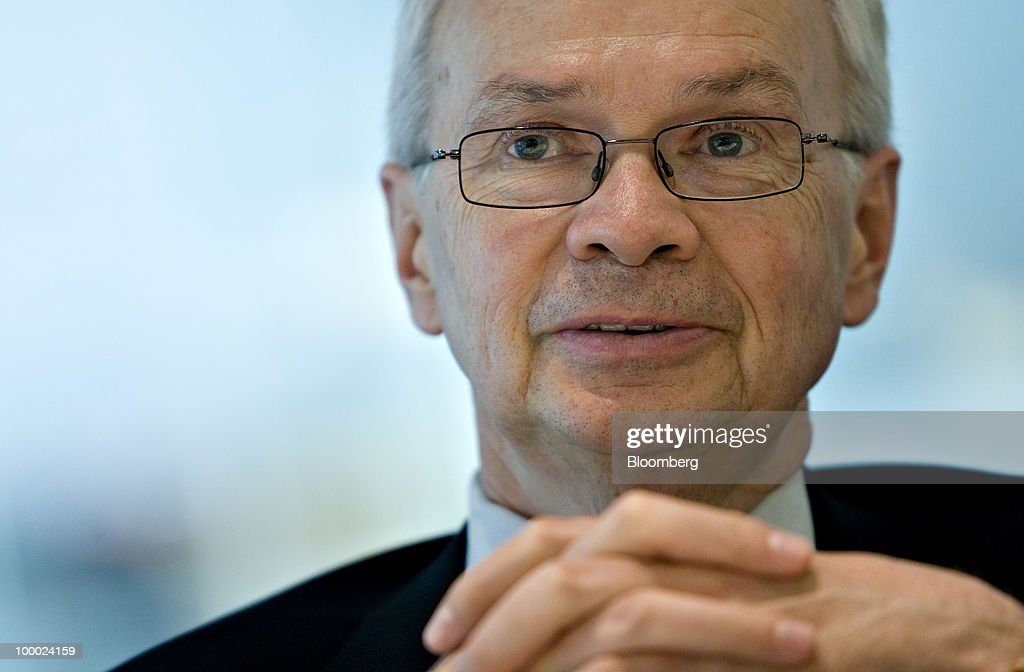 Mike Wilson, president and chief executive officer of Agrium Inc., speaks during an interview in New York, U.S., on Thursday, May 20, 2010. Photographer: Daniel Acker/Bloomberg via Getty Images