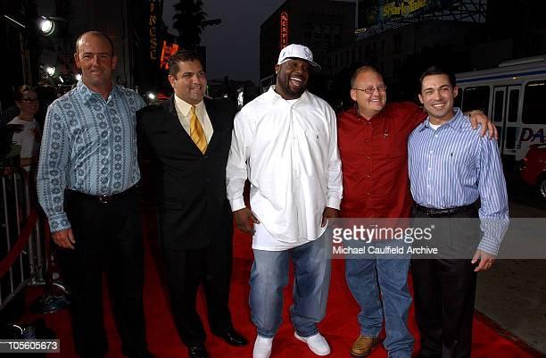 Mike Winchell Brian Chavez James Boobie MilesJ errod McDougal and Don Billingsley