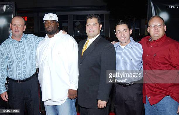 Mike Winchell James Boobie Miles Brian Chavez Don Billingsley and Jerrod McDougal