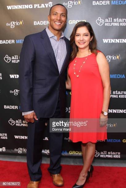 Mike Woods and Ines Rosales attend the Winning Play$ Black Women Feminism Empowerment panel at The Paley Center for Media on June 26 2017 in New York...