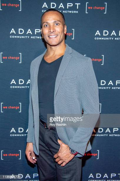 Mike Woods attends the 2019 Adapt Leadership Awards at Cipriani 42nd Street on March 14 2019 in New York City