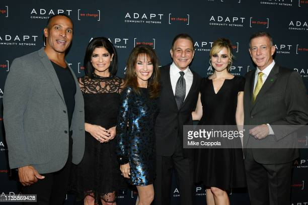 Mike Woods Tamsen Fadal Susan Lucci Tony Danza Cara Buono and Peter M Meyer attend the 2019 2nd Annual ADAPT Leadership Awards at Cipriani 42nd...
