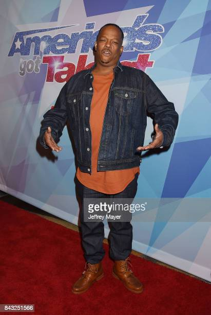 Mike Yung arrives at the NBC's 'America's Got Talent' Season 12 Live Show at the Dolby Theatre on September 5 2017 in Hollywood California