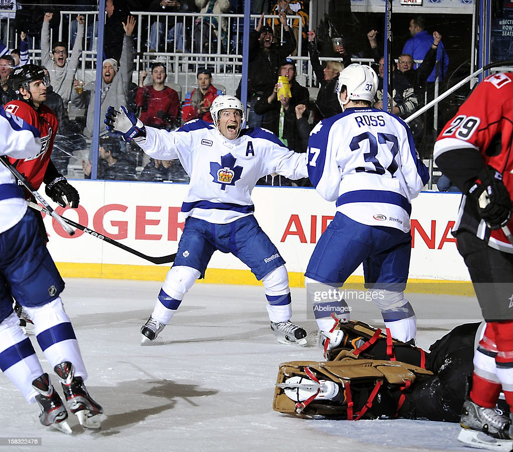 Abbotsford Heat v Toronto Marlies