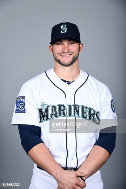 Mike Zunino of the Seattle Mariners poses during Photo Day on Monday February 20 2017 at Peoria Sports Complex in Peoria Arizona