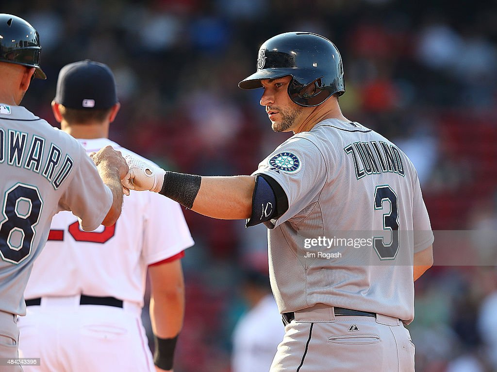 Seattle Mariners v Boston Red Sox : Fotografía de noticias