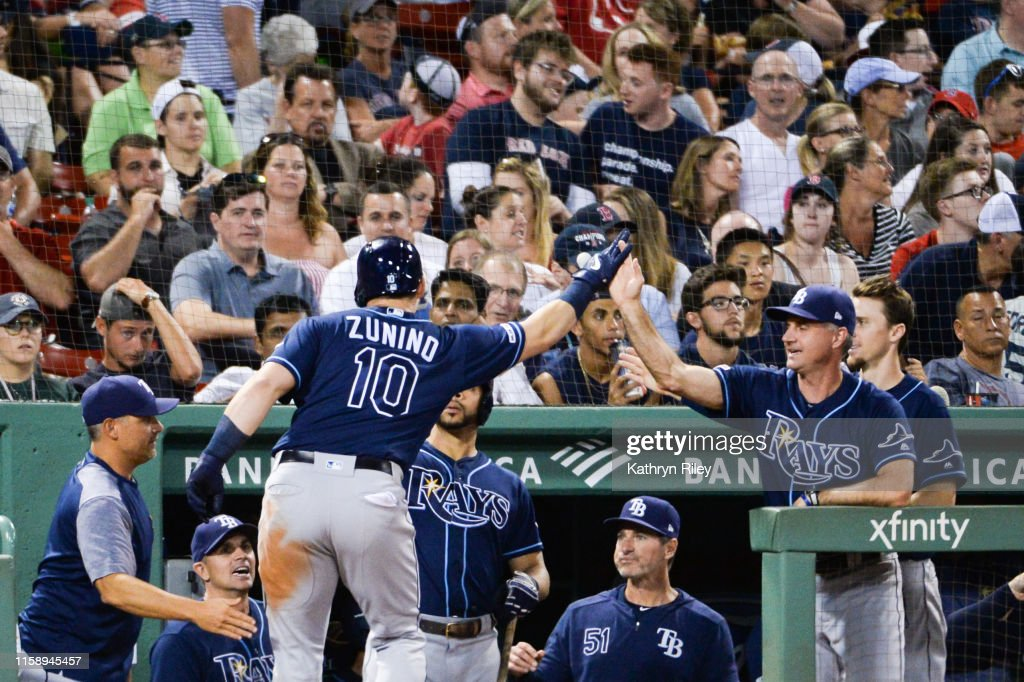 Tampa Bay Rays v Boston Red Sox : News Photo