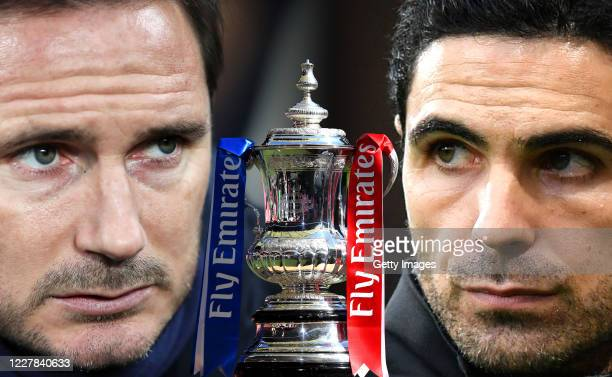COMPOSITE OF IMAGES Image numbers 960100528 1196044327 GRADIENT ADDED In this composite image a comparison has been made between Frank Lampard...