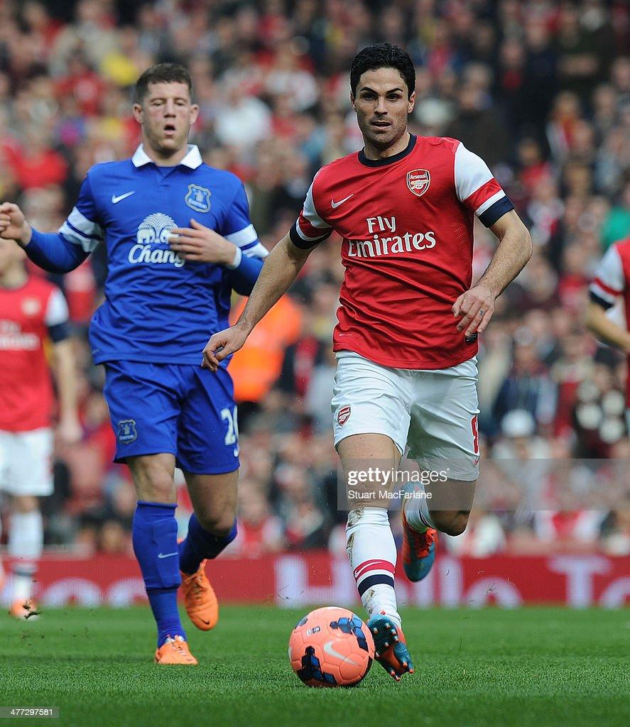 Arsenal v Everton - FA Cup Quarter-Final : News Photo