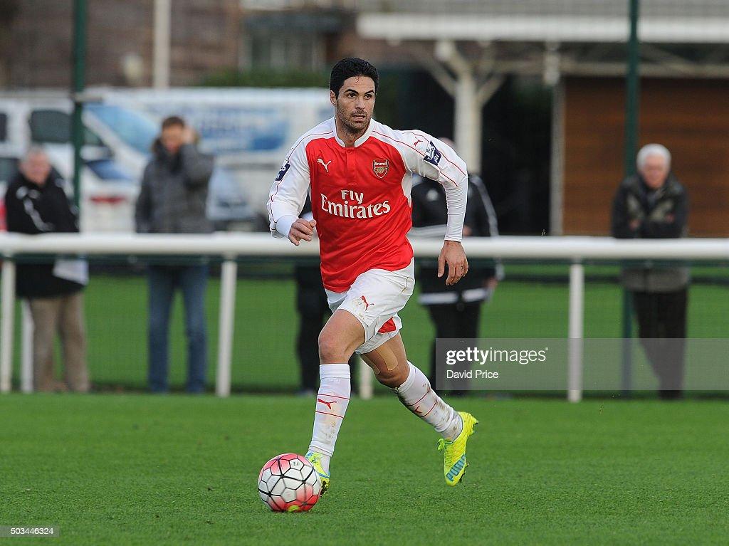 Arsenal U21 v Blackburn Rovers U21 - Barclays Premier Under-21 League : News Photo