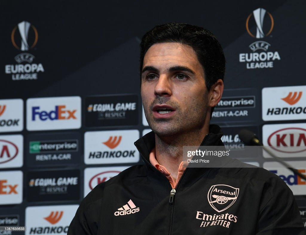 Arsenal FC - Press Conference And Training Session : News Photo